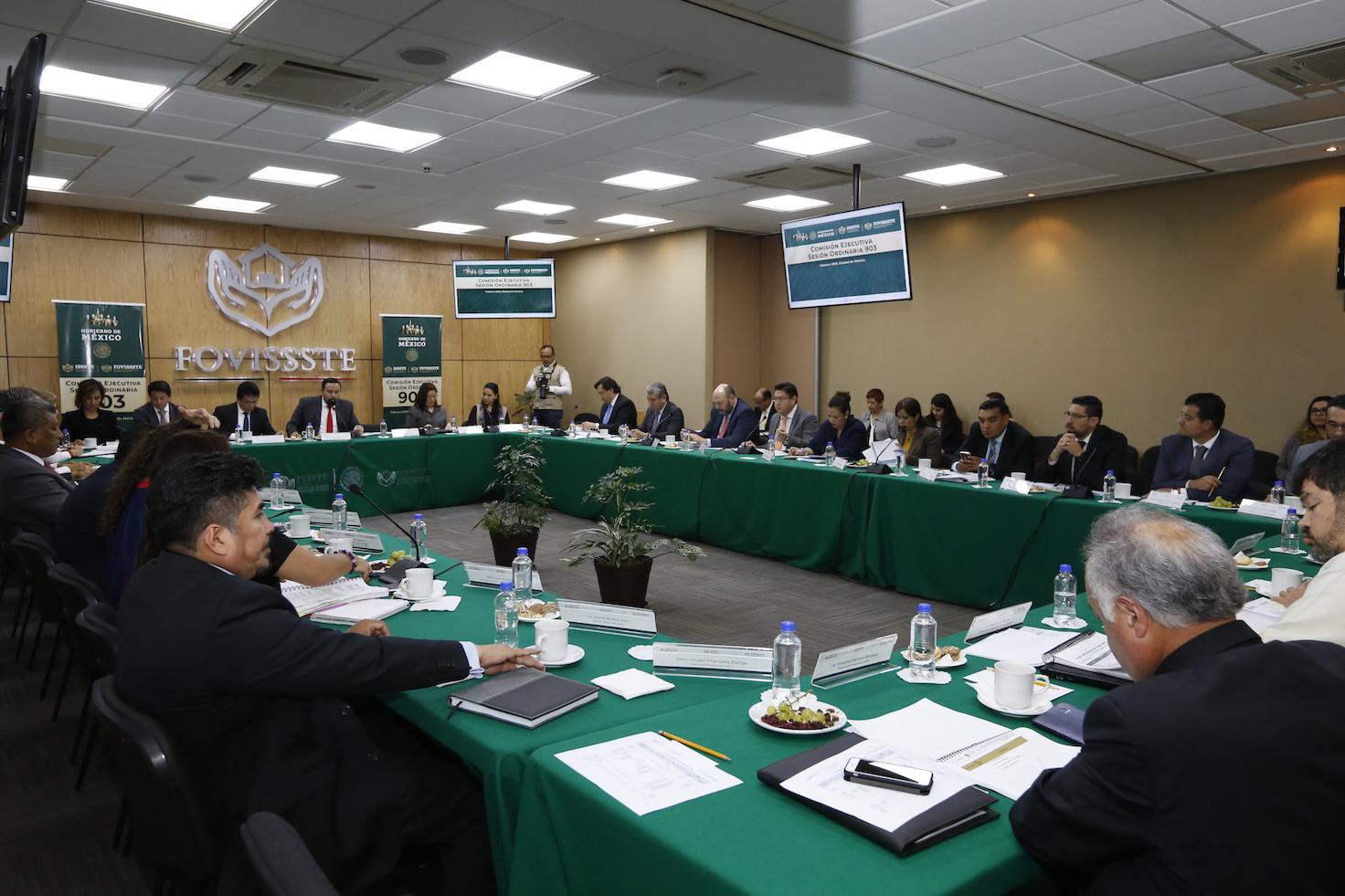 Realiza FOVISSSTE sesión ordinaria 903 de la Comisión Ejecutiva | Fondo de  la Vivienda del Instituto de Seguridad y Servicios Sociales de los  Trabajadores del Estado | Gobierno | gob.mx