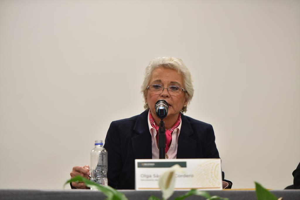Nadine Gasman, directora de Inmujeres.