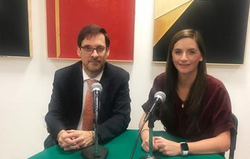 Emb. Alejandro Estivill Castro y Ana Teresa Sáenz