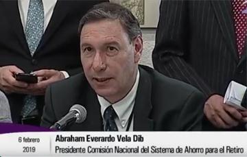 Participación del Dr. Abraham E. Vela Dib en la Comisión de Hacienda y Crédito Público de la Cámara de Diputados.