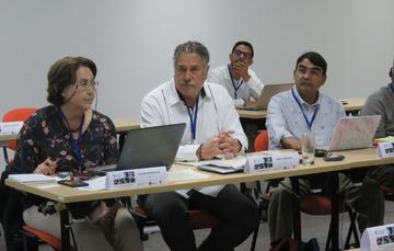 Representantes de México en la reunión del comité directivo del proyecto REBYC II-LAC