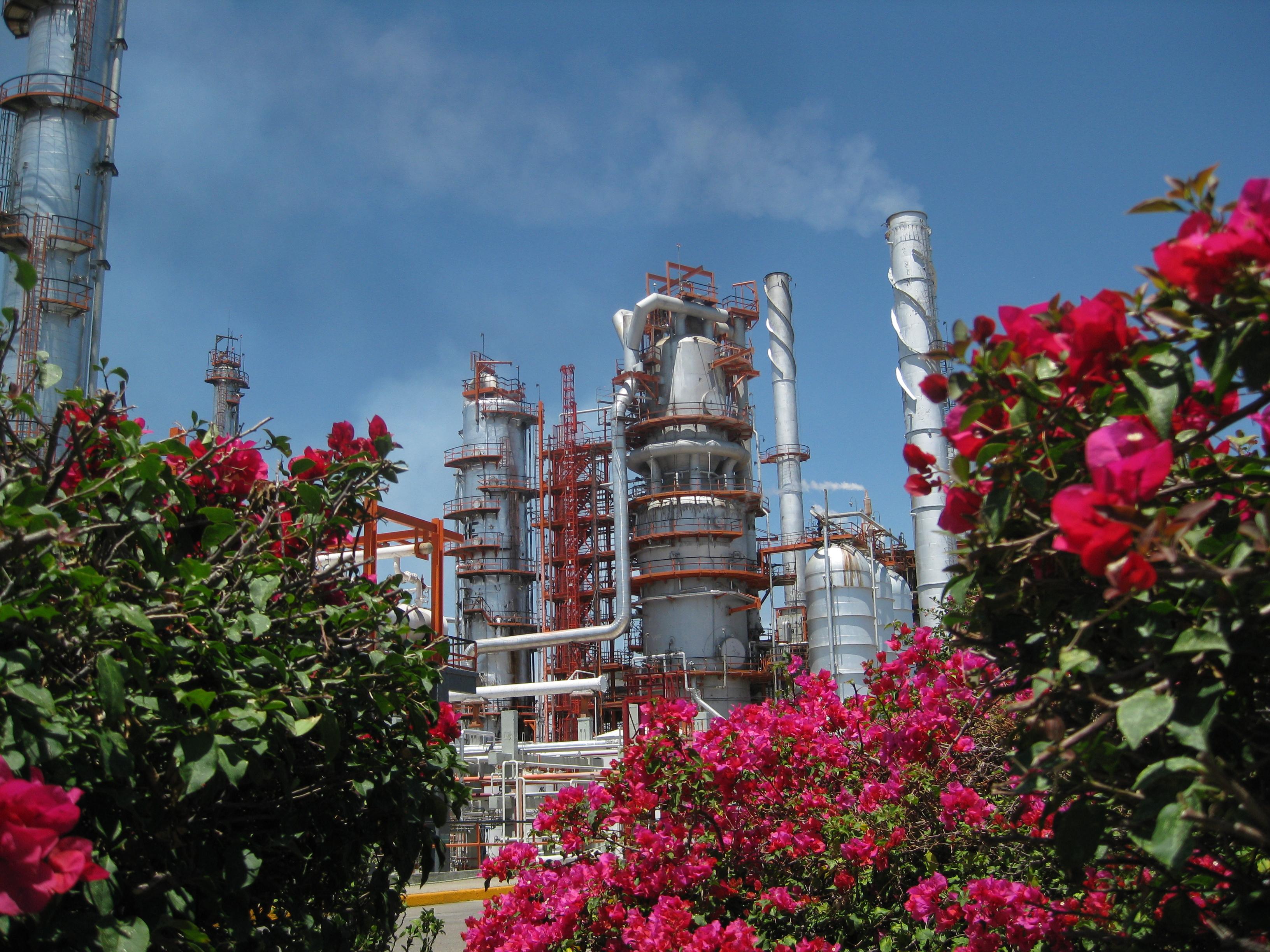 Industria de la refinación