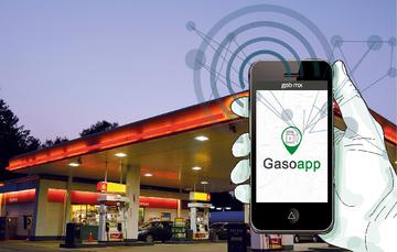 Gasoapp, compara el tiempo real