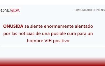 ONUSIDA COMUNICADO DE PRENSA