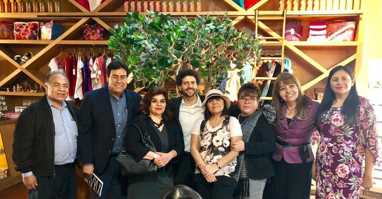 Roberto Valdovinos reunió con líderes comunitarios y con organizaciones culturales
