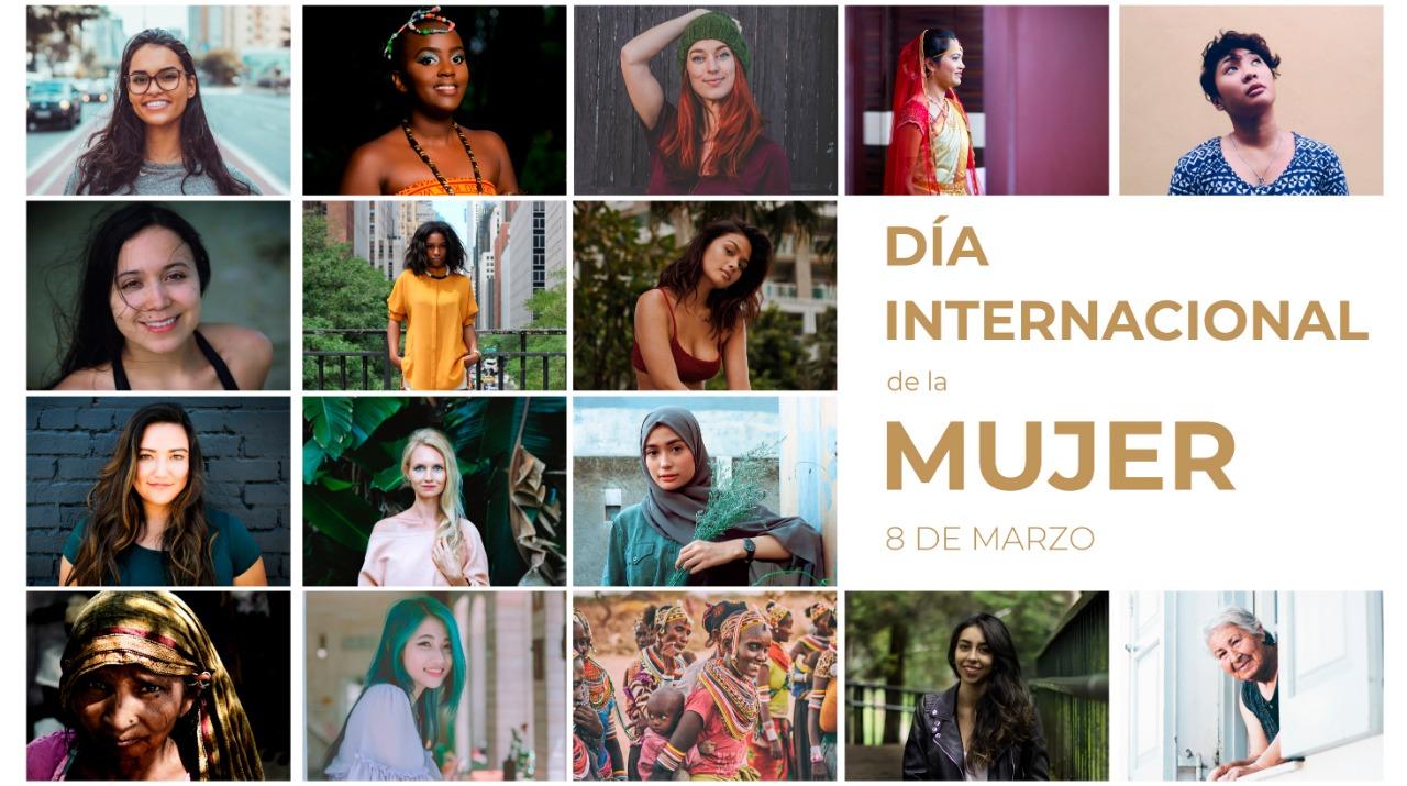 collage de diferentes mujeres