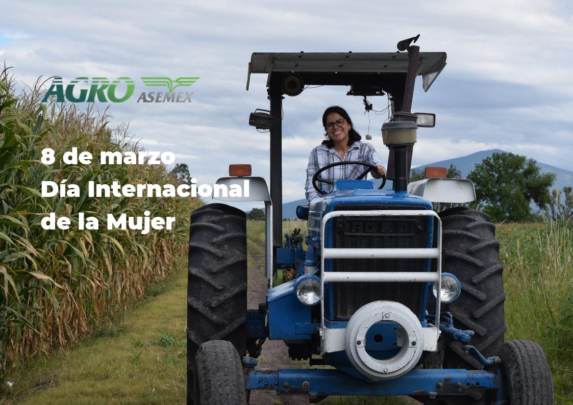 Mujer productora en el Día Internacional de la Mujer.