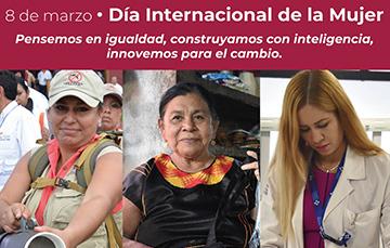 8 de marzo, Día Internacional de la Mujer.