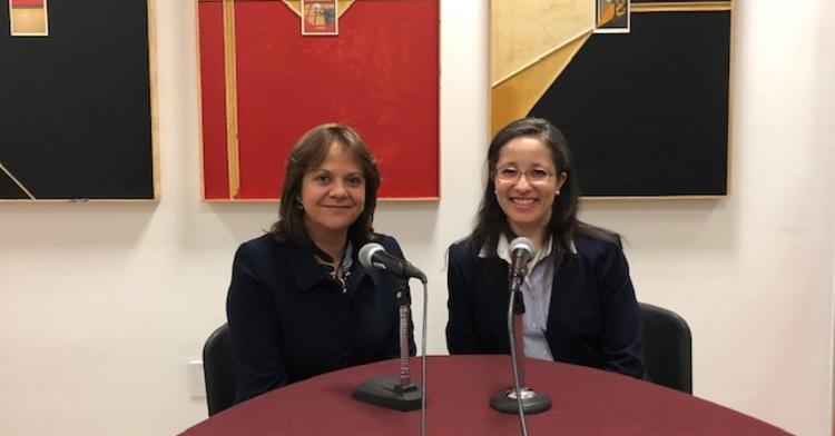 Subsecretaria Martha Delgado Peralta y Mtra. Liliana Padilla