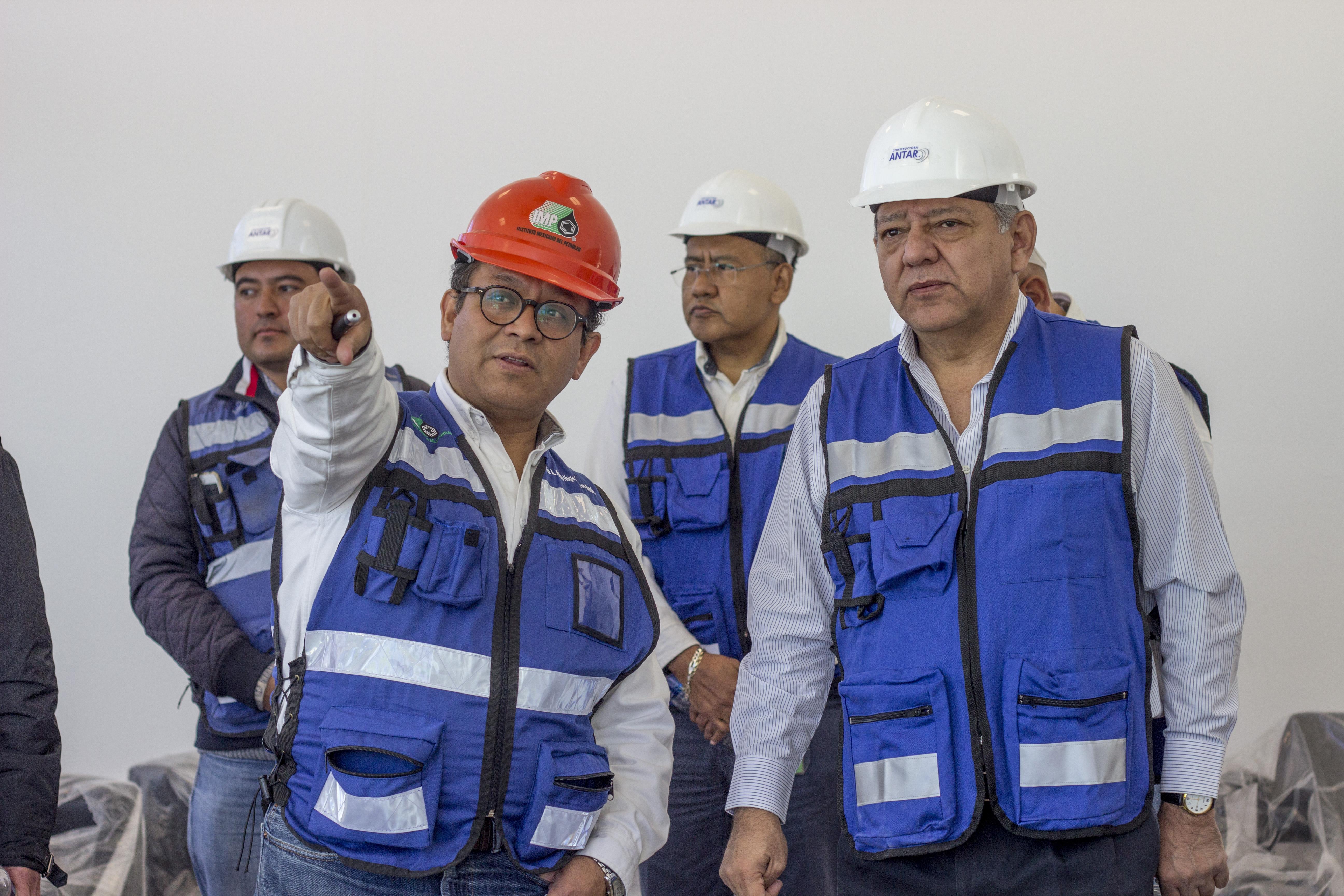 Presentación de la Litoteca Nacional de la Industria de Hidrocarburos