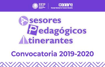 Convocatoria para inscribirse como Asesor Pedagógico Itinerante para el ciclo 2019-2020.
