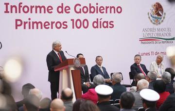 Mensaje del presidente Andrés Manuel López Obrador con motivo de los primeros 100 días de gobierno