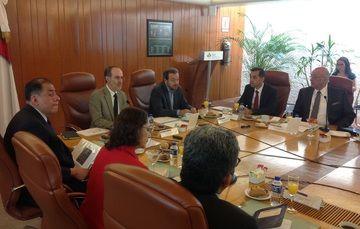 Javier Delgado ante Consejo de Administración.
