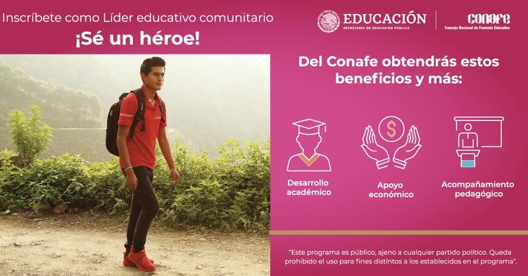 Participa como Líder para la Educación Comunitaria.