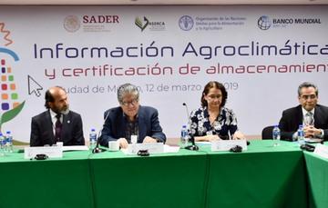 iNFORMACIÓN AGROCLIMATICA Y CERTIFICACION DE ALMACENAMIENTO
