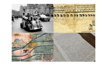 El heraldo de México, códice, documentos del siglo XVI y archivo de comerciantes
