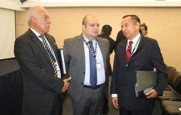 José Pedro Vizuet Bocanegra-Comisionado del SPF (Derecha a izquierda)