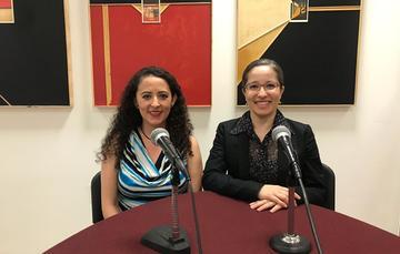 Dra. Indira Labardini Fragoso y Mtra. Liliana Padilla