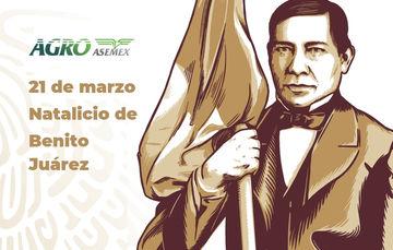 Natalicio de Benito Juárez.