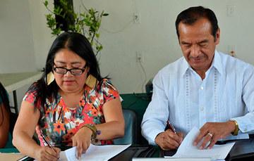 INALI y SEPI firman Convenio de colaboración.