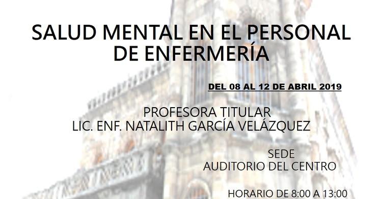 Curso Salud Mental en el Personal de Enfermería