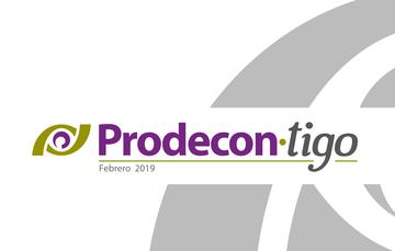Boletín PRODECON-tigo Febrero 2019