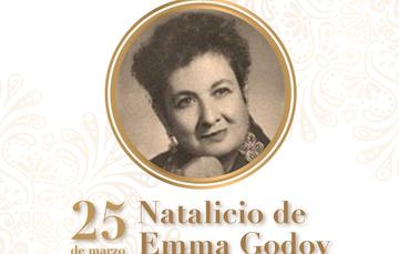 25 de marzo Natalicio de Emma Godoy