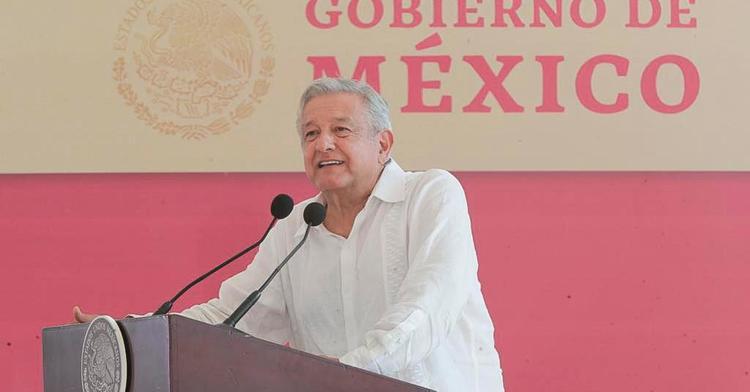 Presidente de México, Andrés Manuel López Obrador, desde Centla, Tabasco