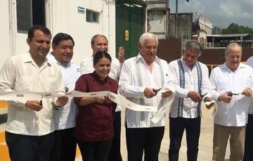 Inauguración de planta procesadora de carne