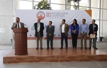 Asiste Vocal Ejecutivo a evento de vivienda en Querétaro