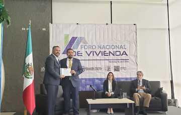 Presente durante evento en Monterrey, Nuevo León el Vocal Ejecutivo, Agustín Rodríguez López habló sobre los créditos en esa entidad