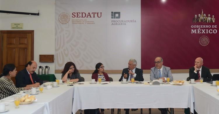 Impulsa Procuraduría Agraria consulta en defensa de derechos a sujetos agrarios e indígenas en el proyecto del Tren Maya