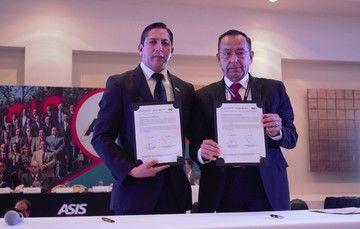 Ratifica convenio ASIS-SPF