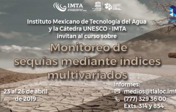 Curso sobre monitoreo de sequías