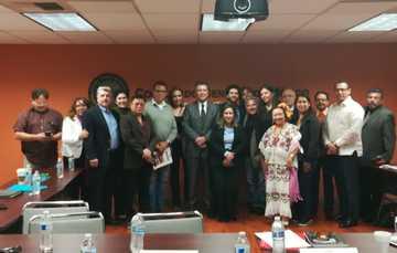 El IME se reúne con organizaciones culturales comunitarias en Los Ángeles
