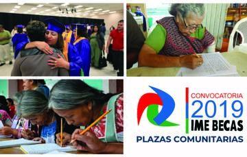 Convocatoria IME-Becas/Plazas Comunitarias 2019
