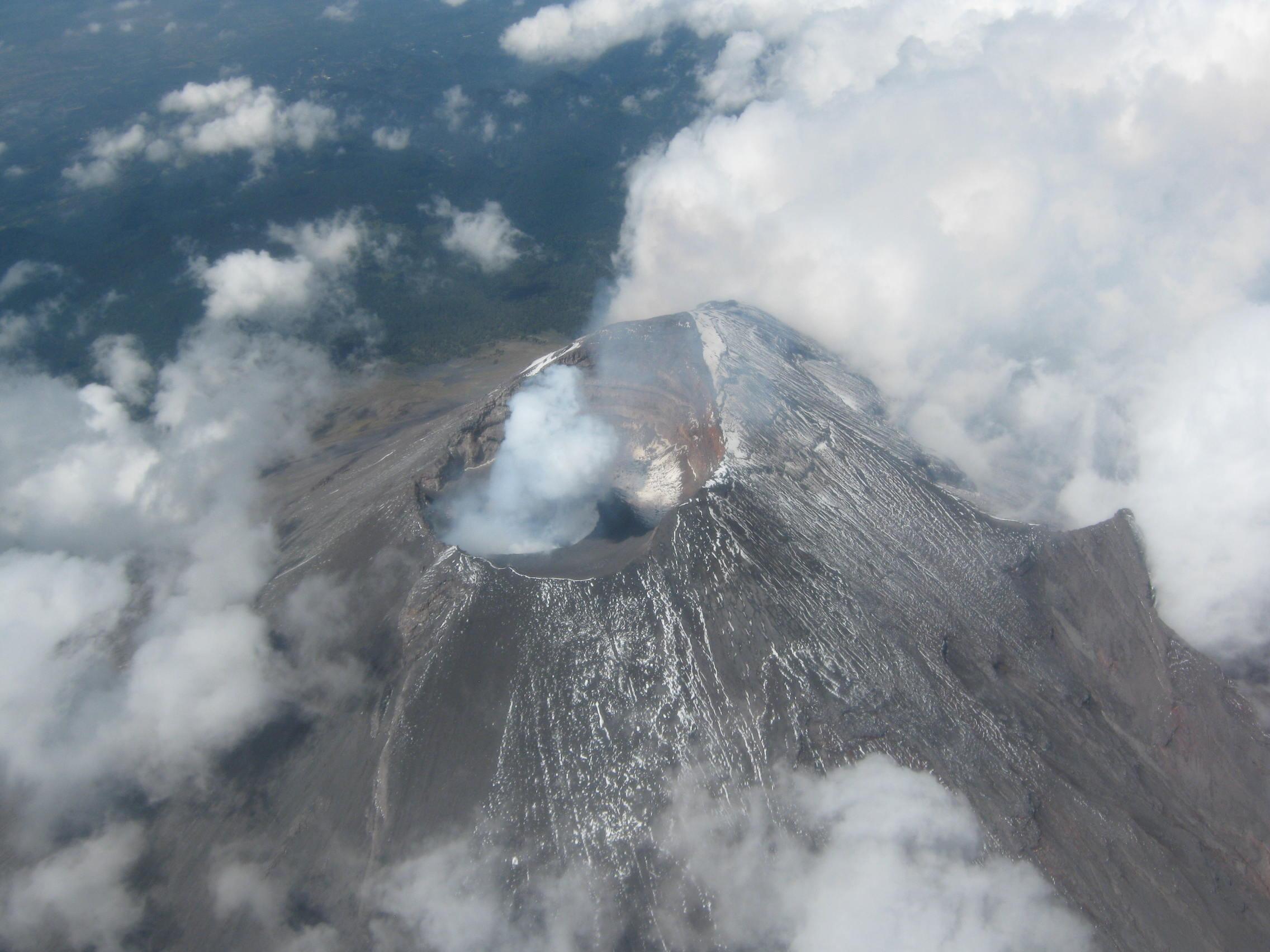El volcán Popocatépetl es monitoreado las 24 horas, los 365 días del año