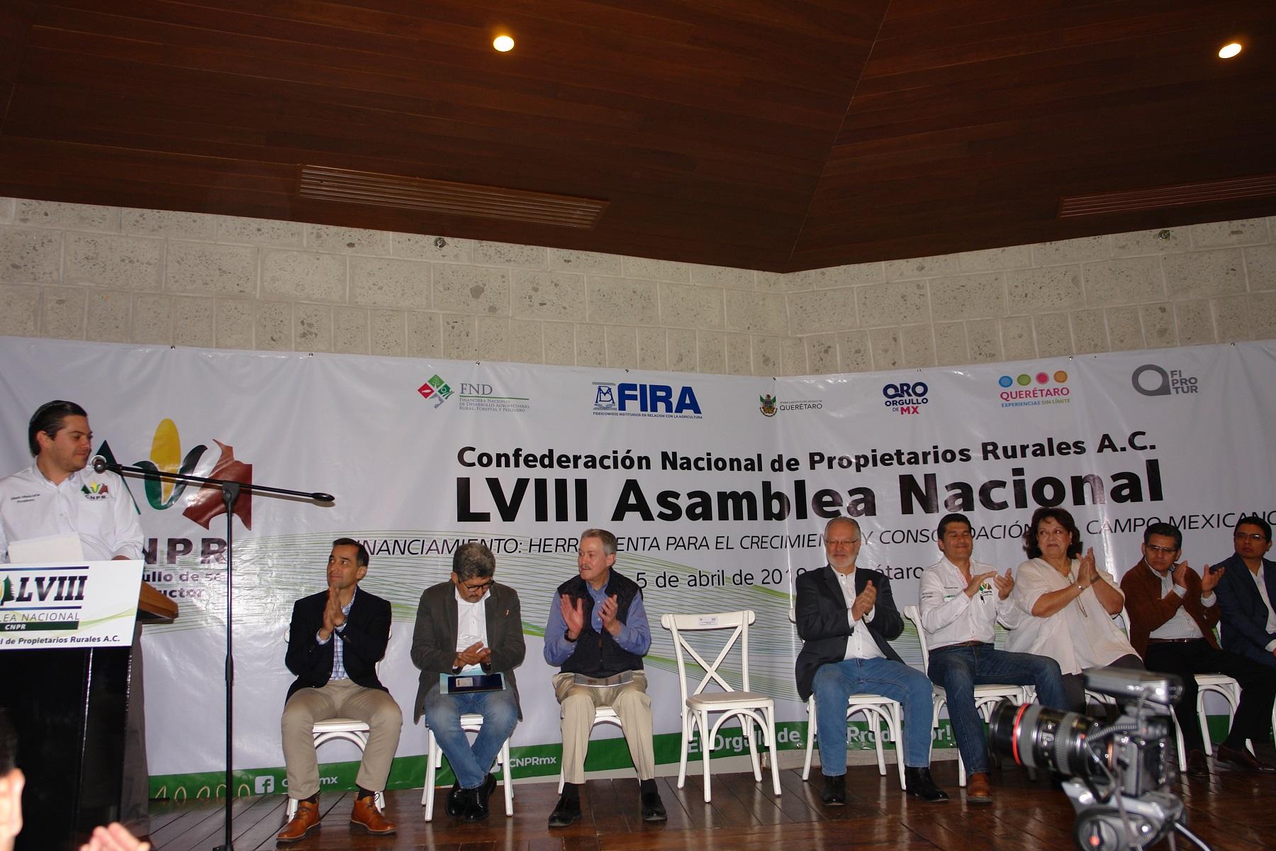 AGROASEMEX en Asamblea Nacional de la CNPR.