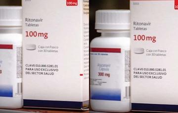 Medicamentos antirretrovirales.