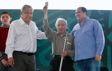Mensaje del presidente de México desde Michoacán, durante la Entrega de Programas Integrales de Bienestar