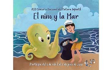 """XLII Concurso Nacional de Pintura Infantil """"El Niño y La Mar"""""""