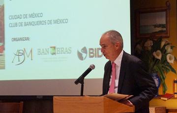 """Sergio Forte Gómez, Director General Adjunto de Banca de Inversión de Banobras, participó en el """"Laboratorio de Innovación Financiera para Transporte Sustentable"""""""