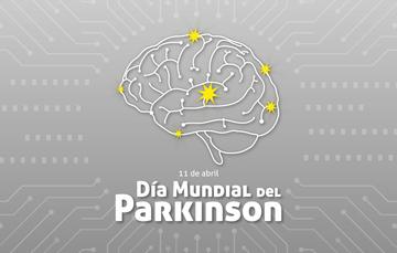 Un cerebro con luces amarillas.