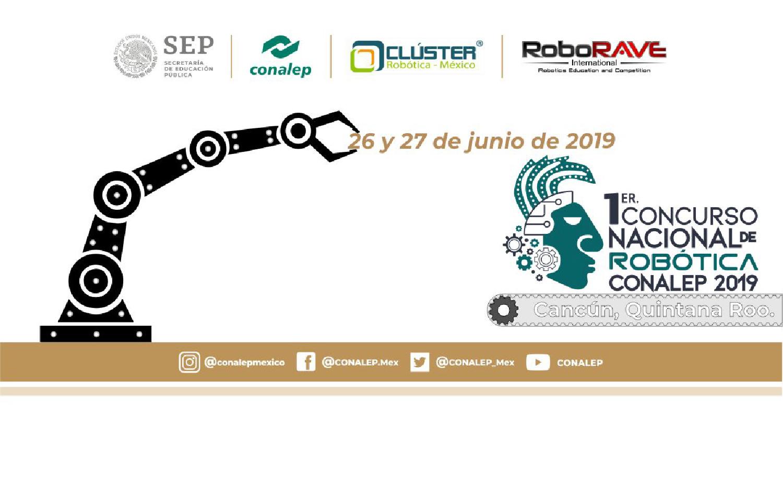 1er Concurso Nacional de Robótica CONALEP 2019