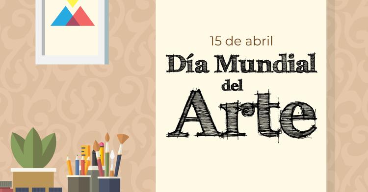 Foto Día Mundial del arte. 15 de abril.