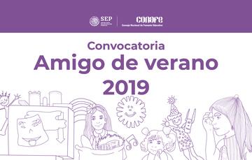 Convocatoria para inscribirse como Amigo de Verano 2019.