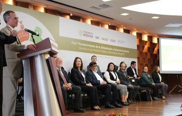 """inauguración del Foro """"Fortalecimiento de la Alimentación y Entornos Escolares: Rumbo a una Política Pública Alimentaria Integral""""."""