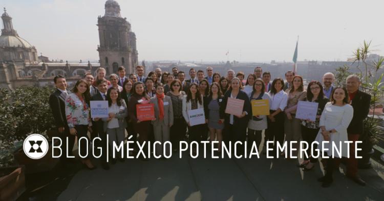 México ha evolucionado como potencia económica emergente convirtiéndose en un campeón de la Cooperación Sur-Sur (CSS) en América Latina.