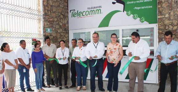 Telecomunicaciones de México atiende a los 17 municipios con los que cuenta el estado de Tabasco, continuando con el plan de expansión de Sucursales.