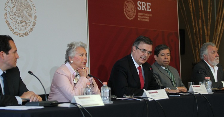 Mexico reaffirms immigration policy, humanitarian assistance